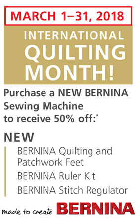 March is International Quilting Month!